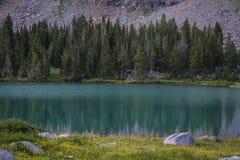High mountain lake Royalty Free Stock Photos