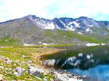 High Mountain Lake Royalty Free Stock Photo