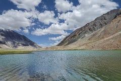 High mountain lake view Stock Photo