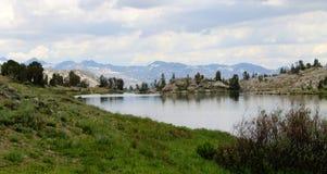 High mountain lake Royalty Free Stock Photo