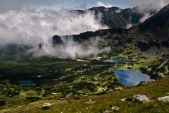 High mountain lakes Stock Photo