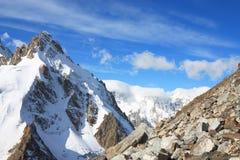High Mountain Landscape Stock Photo