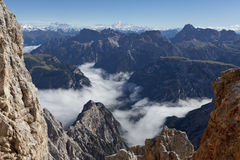High Mountain Landscape. Dolomites, Italy Royalty Free Stock Image
