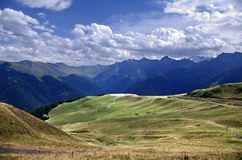 High mountain landscape Royalty Free Stock Images
