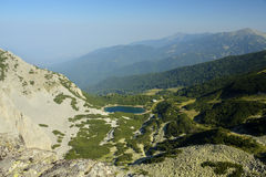 High mountain landscape Stock Images