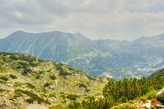 High mountain landscape stock image