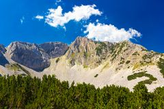 High mountain landscape Stock Photos