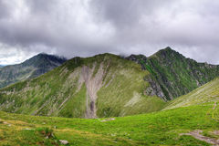 High mountain landscapes Stock Images