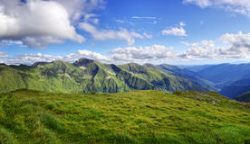 High mountain landscapes Royalty Free Stock Images