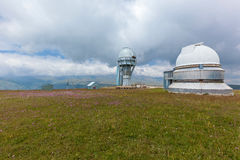 High mountain observatory Royalty Free Stock Photos