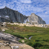 High mountain pass Royalty Free Stock Images