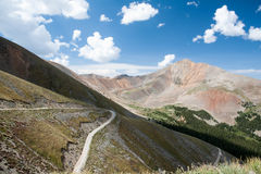 High Mountain Pass Royalty Free Stock Photography