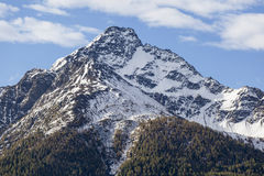 High mountain peak Stock Photography