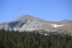 High Mountain Peak Stock Photography