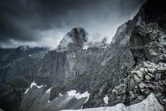 High mountain peak Stock Photos