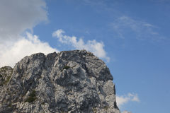 A high mountain peak. Germany Stock Photography