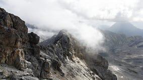 High mountain peaks Stock Photos