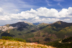 High mountain in Poland. Stock Images