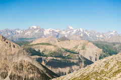High mountain range Royalty Free Stock Images