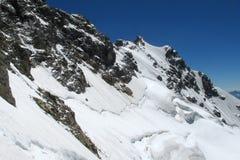 High mountain range Stock Image