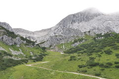 High mountain region Stock Photo