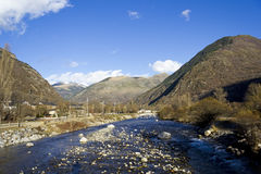 High mountain river Stock Images