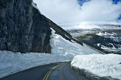 High Mountain Road Royalty Free Stock Image