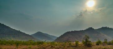 High mountain scenery. Stock Photo