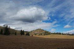 High mountain scenery, Utah. High mountain scenery between Beaver and Junction, Fishlake National Forest, Utah Stock Photos