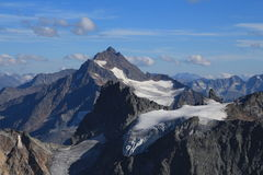 High mountain Sustenhorn and glacier Stock Images