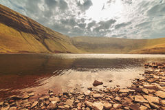 High mountain tarn Royalty Free Stock Images