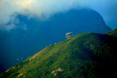 High mountain in Thailand Royalty Free Stock Photos