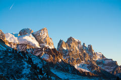 High mountain to San Martino Stock Photography