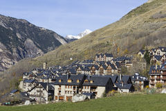 High mountain village Stock Photo