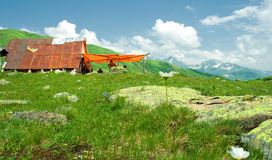 High-mountainous landscape Stock Photography