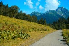 High-mountainous landscape Royalty Free Stock Image