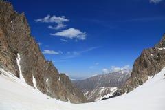 High-mountainous valley Stock Photography