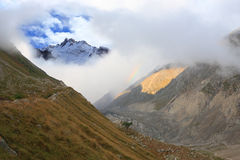 High-mountainous valley Royalty Free Stock Photography
