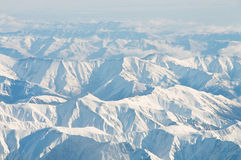 High mountains Stock Photography