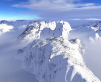 High Mountains Royalty Free Stock Images