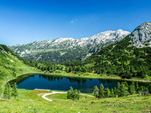 High mountains Austria Royalty Free Stock Photo
