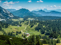 High mountains Austria Royalty Free Stock Photos