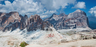 Dolomites mountains Royalty Free Stock Photo