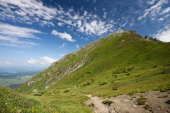 High mountains - High Tatra, Slovakia Royalty Free Stock Images