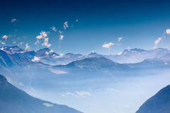 Free High Mountains In Haze Royalty Free Stock Photo - 28863925
