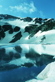 High mountains lake Stock Photo