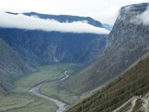 Sky of Altai Stock Images