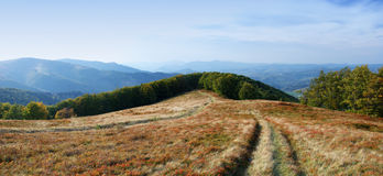 High in the mountains outdoors Royalty Free Stock Photography