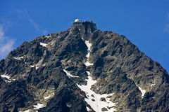 High Mountains Peak Royalty Free Stock Photography