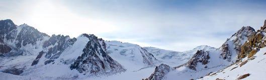 High mountains Stock Image